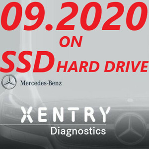 Mercedes Xentry Diagnostics Software 09 2020 On Ssd Hd