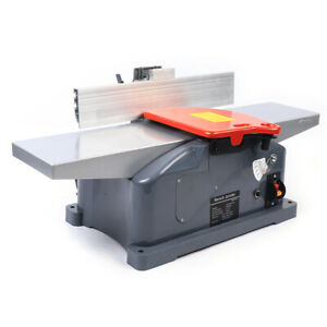 6 Inch Electric Planer Jointer Wood Working Tool Benchtop Woodworking
