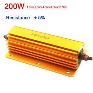 200w Power Metal Resistors Equipment 4 Tube Amp Test 1ohm 2ohm 4ohm 8ohm 8r Tool
