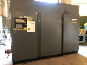 250 Hp Atlas Copco Air Compressor Hp 250 Maximum Psi 217 5