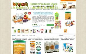 Ebay Amazon Clickbank Affiliate Website Organic Foods And Drinks Autoupdate