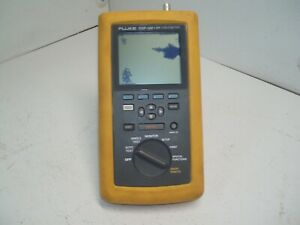 Fluke Dsp 100 Lan Cablemeter For Parts Repair