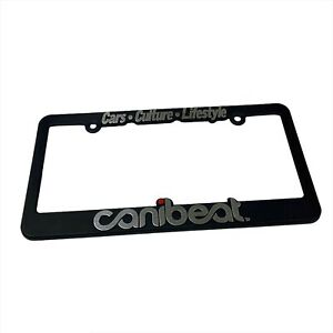 Canibeat License Plate Frame Fatlace Hellaflush Illest Stancenation
