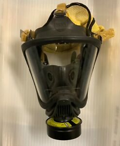 Msa Ultra Elite 40mm Riot Control Gas Mask Excellent Condition Size Small