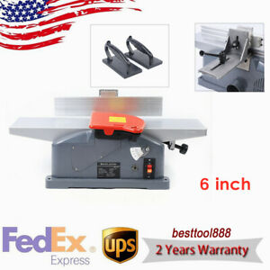 Woodworker Bench Top Jointer Planer Woodwkring Machine 10a 6 Inch W Handles