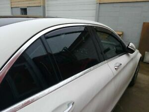 Dodge Avenger In channel Rain Guards 4 Piece Set