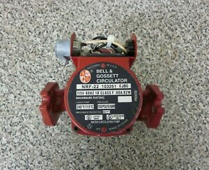 Bell Gossett Nrf 22 103251 1 25hp 115v Cast Iron Circulator Circulation Pump