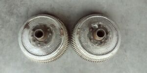 2 Buick Aluminum Finned Front Drums 1966 1970