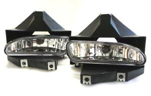 For 99 04 Ford Mustang V6 Gt Clear Oe Bumper Driving Lamps Fog Lights W Bulbs
