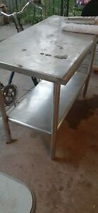Stainless Steel Table 24x48