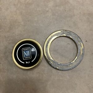 Rare Nardi Horn With Ring Gold