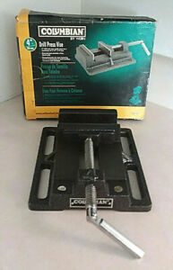 Wilton Columbian 4 In Drill Press Vise 69997 W stationary Base Original Box