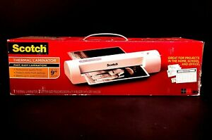 New Scotch Tl901c Thermal Laminator Up To 9