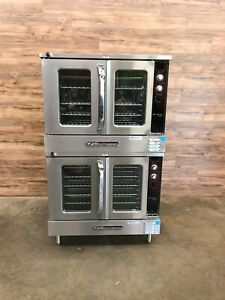 2011 Southbend Es 20sc Double Full Size Electric Convection Oven 208 V Ph 1 3