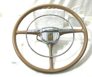 1942 1948 Vintage Dodge Custom Steering Wheel Horn Ring Beautiful Condition