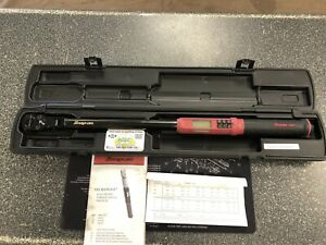 Snap on Atech3f250vr 1 2 In Drive Techangle Digital Torque Wrench 12 5 250ft lb