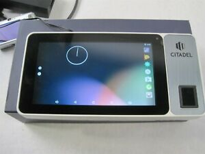 Citadel Ob1000 7 Touch Tablet Time Clock With Fingerprint Sensor And Camera