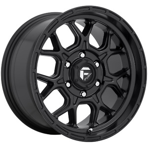 Fuel D670 17 Inch 6x139 7 4 Wheel Rims 17x9 1mm Black