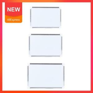 Double Side Magnetic Whiteboard Office School Dry Erase Pen Board Magnets Button