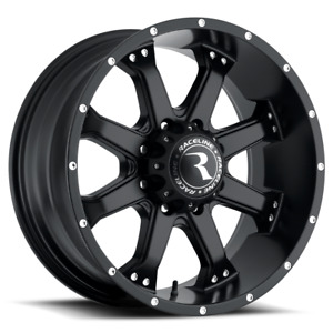 Raceline 991b Assault 17 Inch 6x139 7 4 Wheels Rims 17x9 25mm Black
