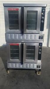 Blodgett Dfg100 Double Stack Nat Gas Convection Oven 55 000 Btu Teste Works Good