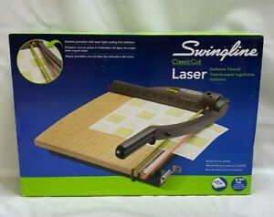 Swingline Guillotine Paper Cutter 12 Cut Length 15 Sheet Capacity With Laser