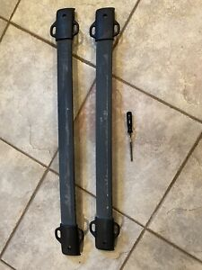 2002 2007 Subaru Impreza Wagon Oem Roof Rack Cross Bars Sport Load Aero T30 Torx