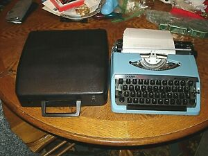 Brother Charger 11 Correction Manual Typewriter With Hard Case