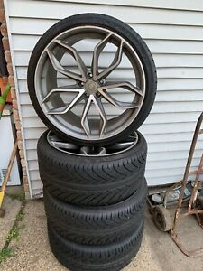 22 Road Force Rf17 Rims And Run Flat Tires Bmw X5 X6 5x120 Lets Make A Deal