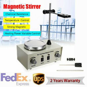 79 1 Hot Plate Magnetic Stirrer Lab Heating Speed Control Mixer 1000ml 110v Us