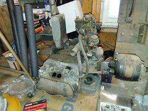 Vw Beetle Bug Air Cooled Engine 1600 1972 Complete Long Block
