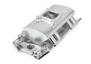 Sniper Fabricated Intake Manifold Big Block Chevy Single Plane 1 X 4150 Silver