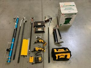 Drywall Taping Tool Set With Extras used