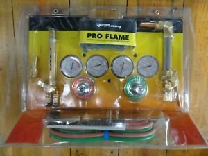 Forney Harris Compatible Pro Flame Heavy Duty Torch Kit Oxy acetylene