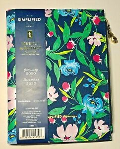 2020 Emily Ley Simplified Refillable 2020 Planner Notebook Cover 5 5x8 5 Floral