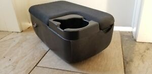 1998 2003 Ford Ranger Mazda B Center Console Arm Rest W Cup Holder 2 Bolt Oem