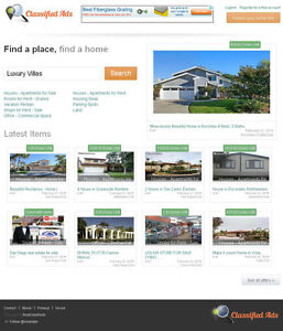 Real Estate Classifieds Website Free Install Hosting