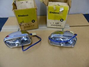 Nos Pontiac 1965 Grand Prix Parking Lamp Assemblies Pair 3