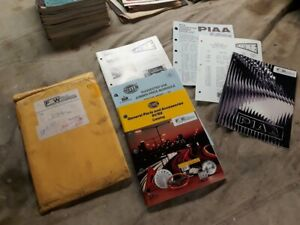 Vintage 1991 1992 Hella Piaa Parts And Accessories Catalog Lot