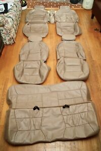Leather Seat Covers For Lincoln Navigator Ford Expedition F 150