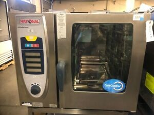 Rational Selfcookingcenter Scc61 208 3ph Electric Combi Oven Used U 7517a