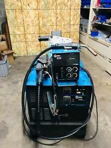Miller Cp 302 4 Drive Roll Feeder Mig Welder Package
