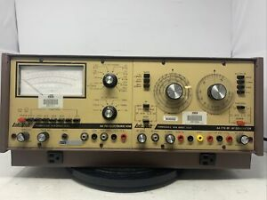 Lab volt Aa760 Meter And Aa779 Rf af Generator Mw00