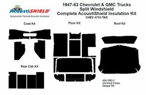 1947 1953 Chevy Truck Complete Acoustic Insulation Kit