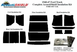 1940 1947 Ford Truck Complete Acoustic Insulation Kit