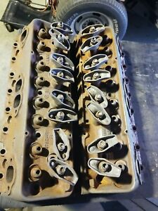 1960 Dated 1961 Rare Chevy Corvette 3782461x Bare Cylinder Heads Pr Guaranteed