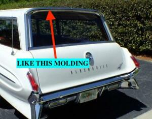 Nos Oldsmobile 1961 Wagon Over The Tailgate Molding Lh 3