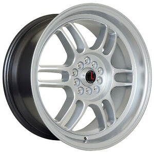 Traklite Boost 17 x7 5 5x114 5x100 Rims For Nissan Toyota Honda Subaru Set Of 4
