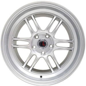Traklite Boost 18 X8 5 5x114 3 Rims For Nissan Toyota Honda Subaru Set Of 4