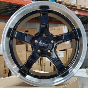 New 18 x8 5x114 3 Rims For Nissan Toyota Honda Kia Ford Hyundai set Of 4